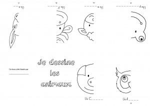 Je dessine les animaux